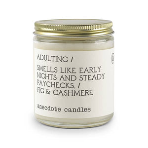 """Adulting"" Candle"