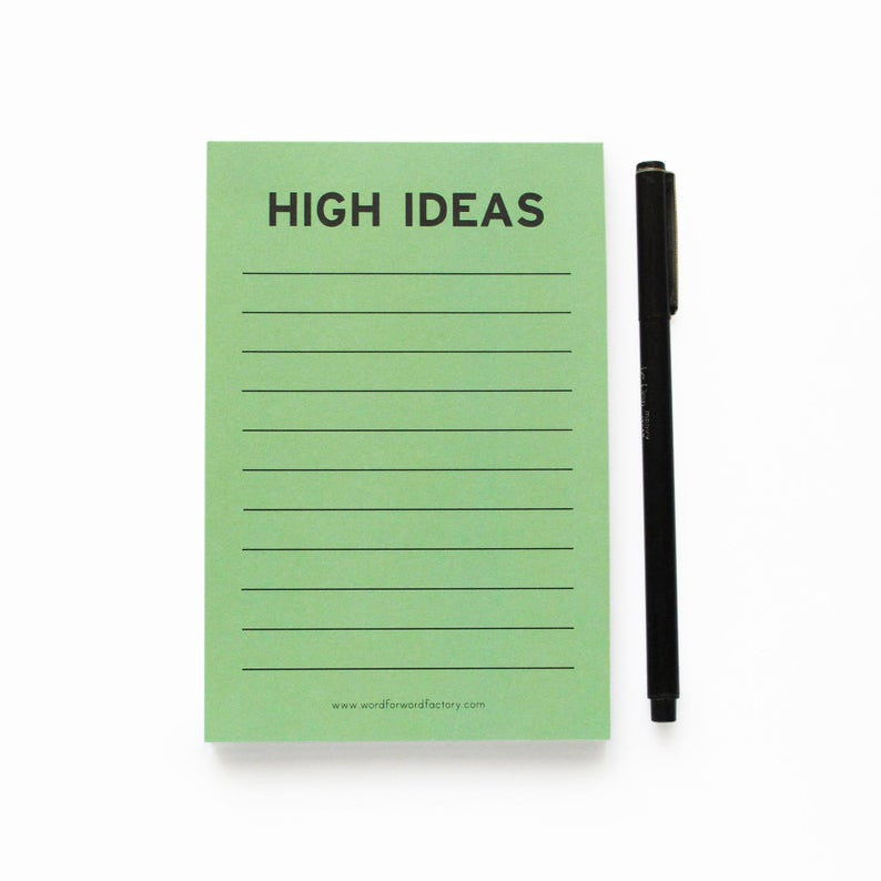 High Ideas Notepad