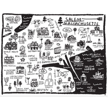 Load image into Gallery viewer, Salem Map Tote