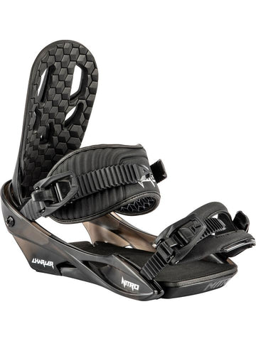 Nitro Charger Bindings Black