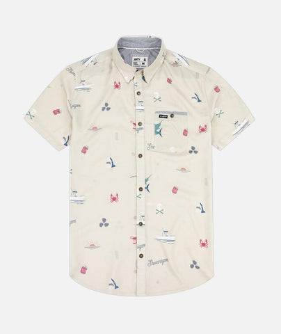 Shenanigans Button Up Cream