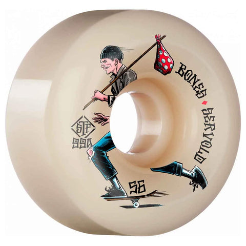 Bones STF Wheels - Servold Gone Skating V6 Wides 99a 56mm