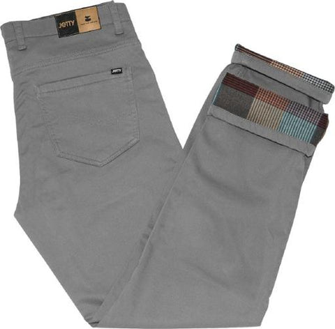 Jetty Flanstone Pants Charcoal