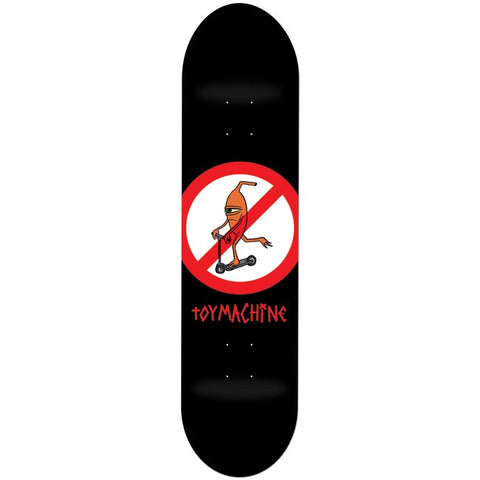 No Scooters Toy Machine Deck 8.25