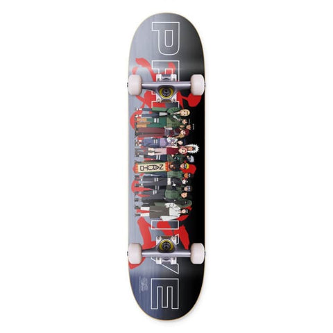 Primitive Team Leaf Village Complete Skateboard