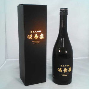 Japanese SAKE MASUIZUMI (Limited DAI-GINZYOU<限定大吟醸>)Made in Japan,from Toyama city (720 ml with BOX)