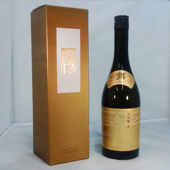 Japanese SAKE MASUIZUMI (KOTOBUKI<寿>:DAI-GINZYOU<大吟醸>)Made in Japan,from Toyama city (720 ml with BOX)
