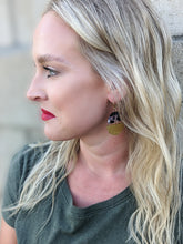 Load image into Gallery viewer, Stacked Moon Earrings