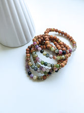 Load image into Gallery viewer, WINTER TRANSITION | WATERMELON TOURMALINE DIFFUSER BRACELET