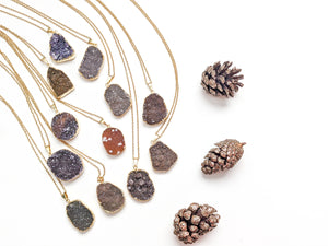 DOORBUSTERS | DRUZY DIFFUSER NECKLACE DEAL
