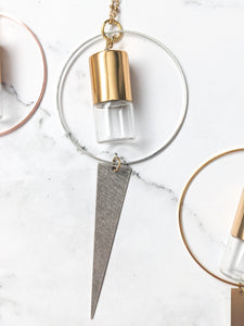 MIXED METAL COLLECTION | DELTA Roller Bottle Necklace