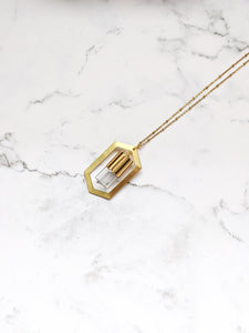 HEXAGON SUPREME ROLLER BOTTLE NECKLACE