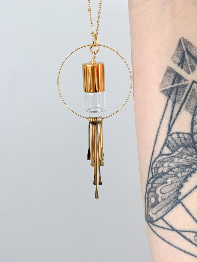 FRINGE | ROLLER BOTTLE NECKLACE