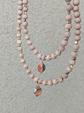 Load image into Gallery viewer, SPINY OYSTER TURQUOISE + COPPER MATRIX | THE BEADED NECKLACE