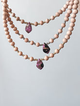 Load image into Gallery viewer, MOHAVE PINK / TURQUOISE + COPPER MATRIX | THE BEADED CHOKER