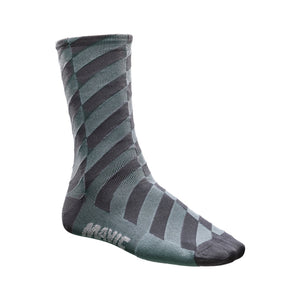 Graphic Mosaic Sock-BLACK-Shark Skin-