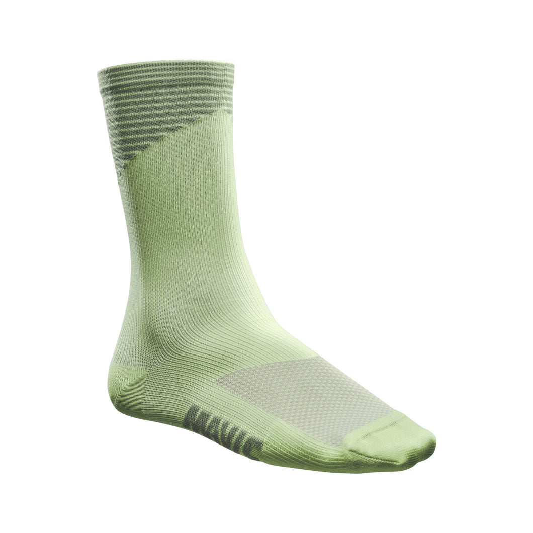 Graphic Sock-Lily Pad-Laurel Green-
