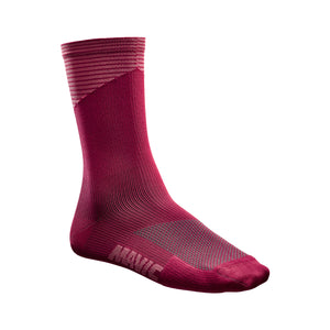 Graphic Sock-Earth Red-Dusty Rose-