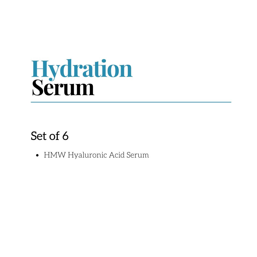 Hydration Serum RETAIL SET OF 4