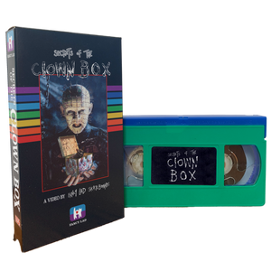 SECRETS OF THE CLOWN BOX VHS