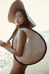 SOLO Halo Jute Straw Bag - Organic World Nation