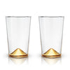 Gold Pointed Cocktail Tumblers by Viski® - Organic World Nation