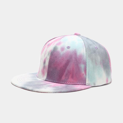Hip Hop Tie-dye Printed Hat - Organic World Nation