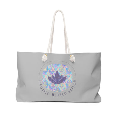 Organic World Nation Weekender Bag - Organic World Nation