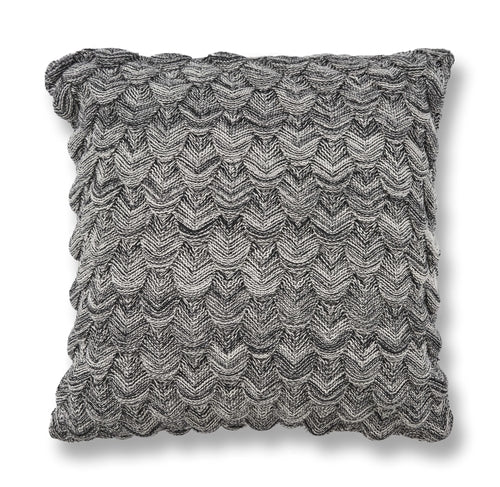 "20"" x 20"" Cotton Black Pillow - Organic World Nation"