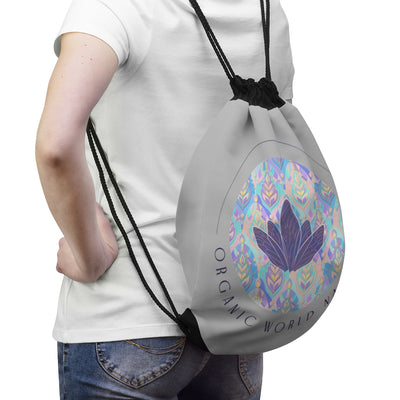 Organic World Nation Drawstring Bag - Organic World Nation