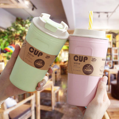 420ml Reusable Bamboo Coffee Cup - Organic World Nation