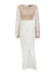 Knitted one piece suit long dress Women patchwork - Organic World Nation