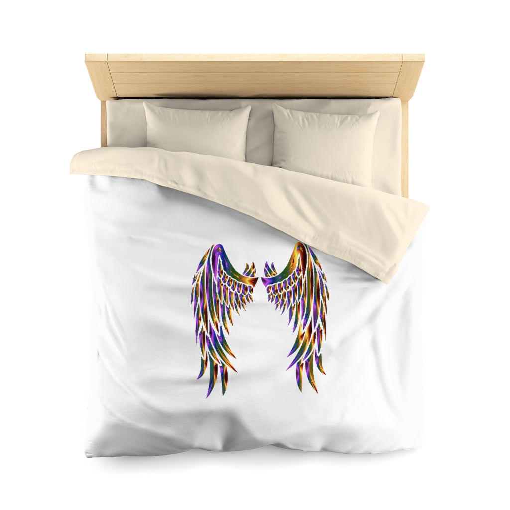 Angel wings Microfiber Duvet Cover - Organic World Nation