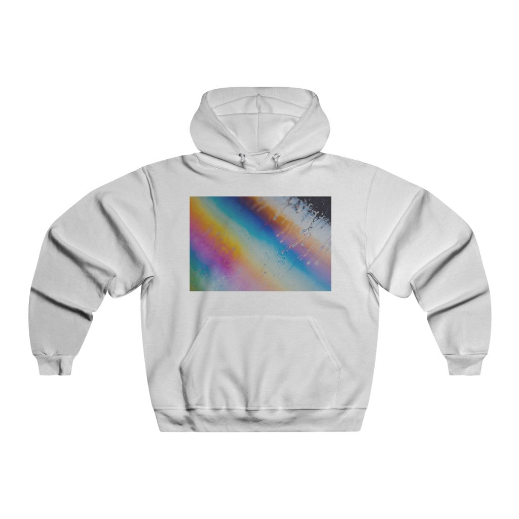 Rainbow Men's NUBLEND® Hooded Sweatshirt - Organic World Nation