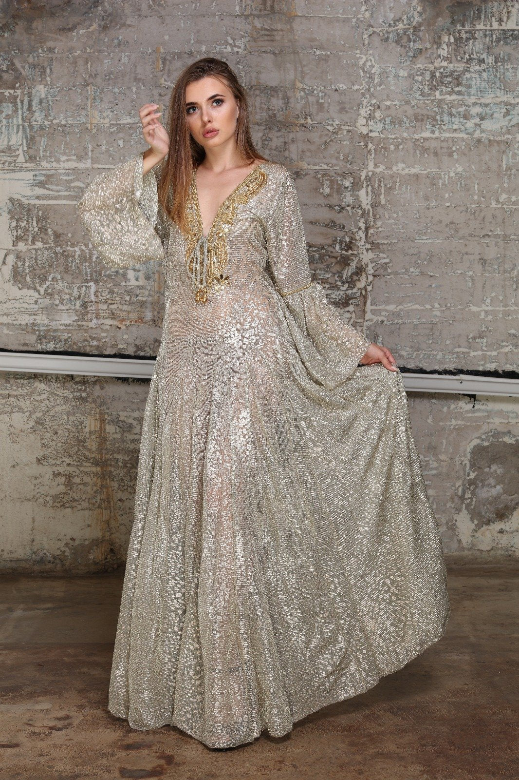 Princess Dress Gold - Organic World Nation