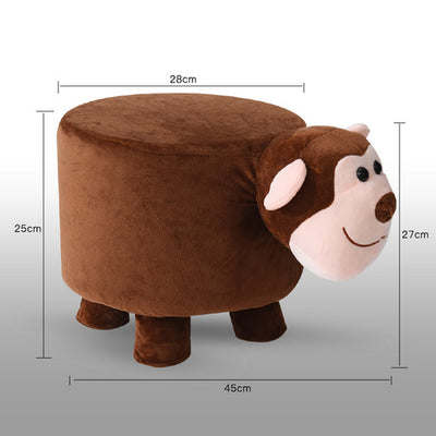 Animal stool creative fashion rabbit home coffee table change shoe - Organic World Nation