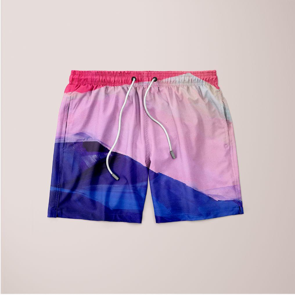 Hot Pink Morning Shorts - Organic World Nation