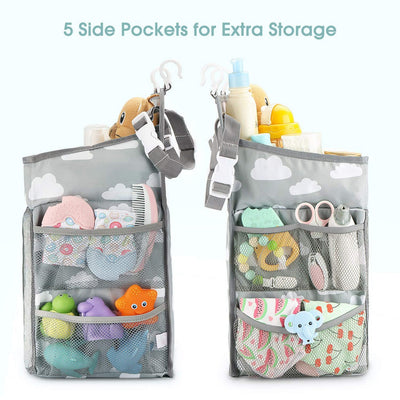New Baby Newborn Hanging Diaper Caddy Organizer - Organic World Nation