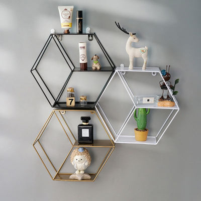 Iron Grid Invisible Shelf - Organic World Nation