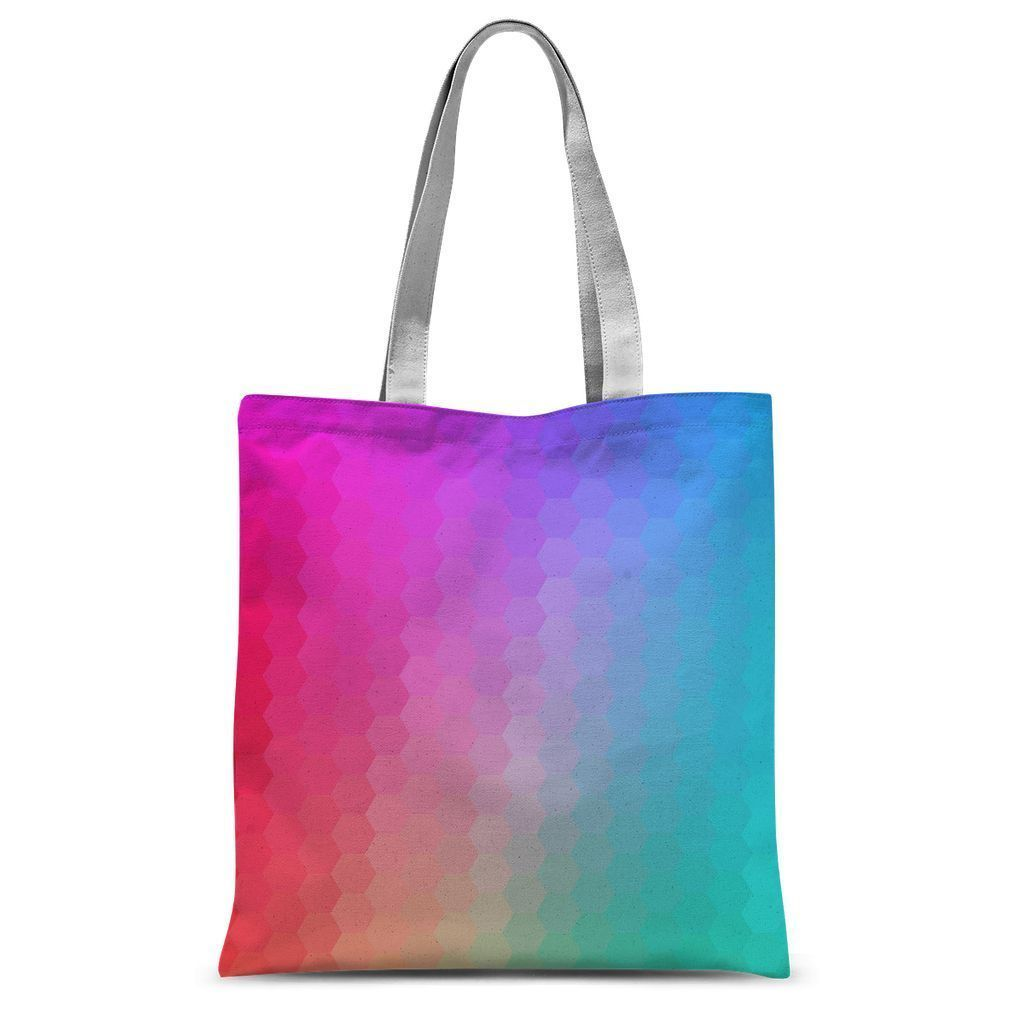 Abstract Gradient 1 Sublimation Tote Bag - Organic World Nation