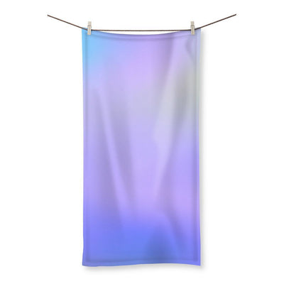 Abstract Gradient Purple Beach Towel - Organic World Nation