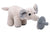 Pacifier Holder Soft Plush Elephant with Silicone Pacifier - Organic World Nation