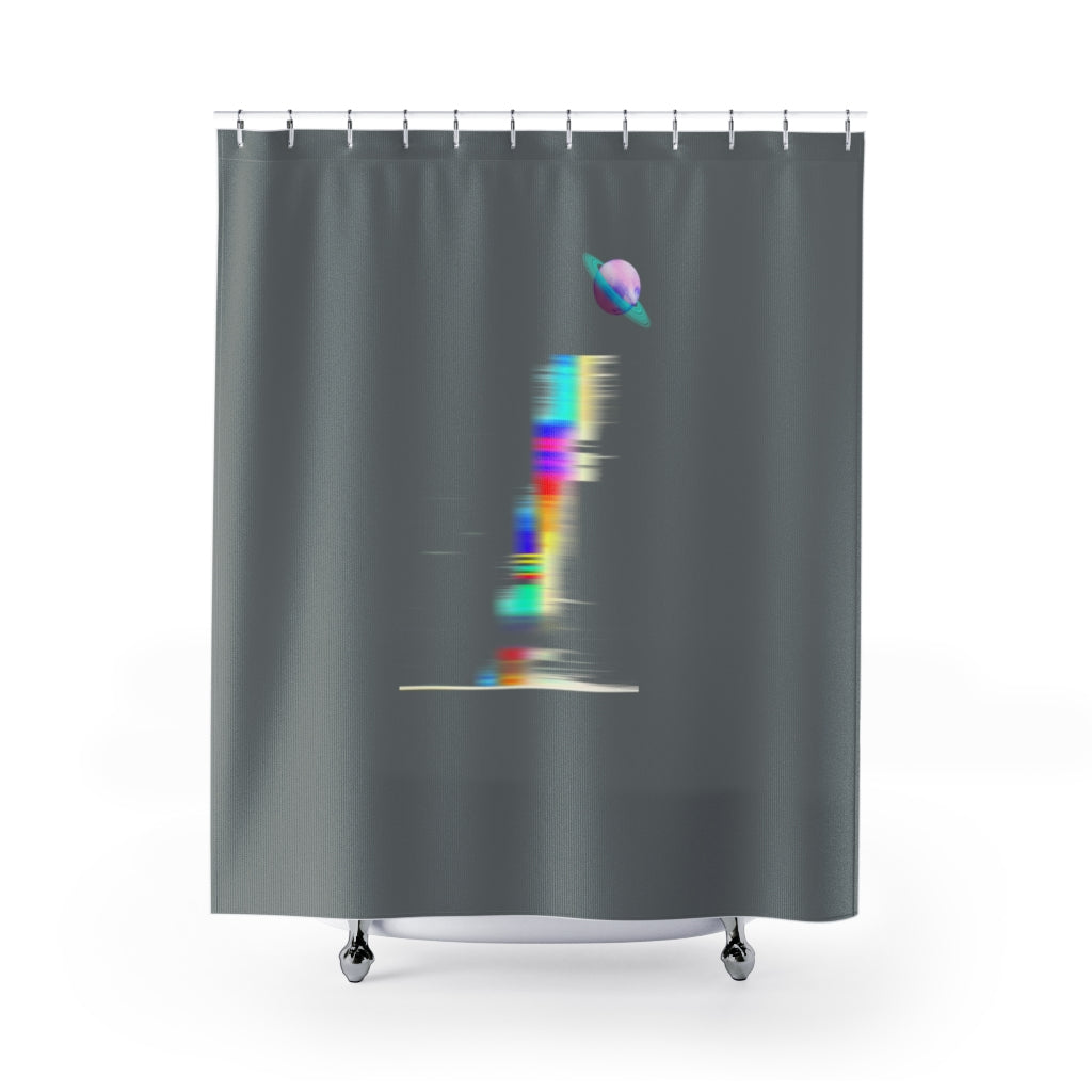 Minimal Shower Curtains - Organic World Nation