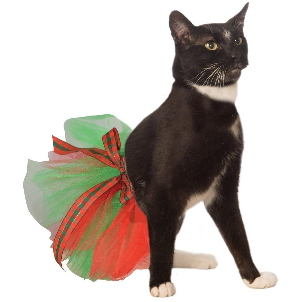 Christmas Tutu Cat Costume - Organic World Nation