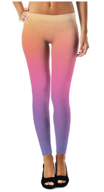 Colorful 5 Legging - Organic World Nation