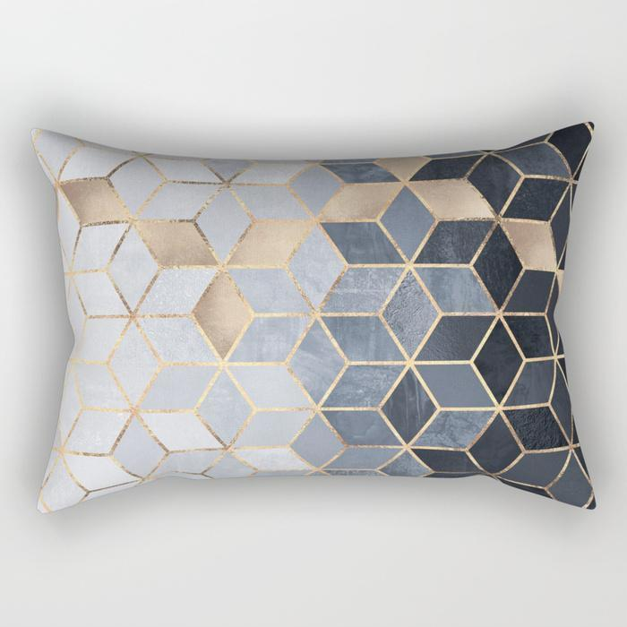 Cubic Rectangle Pillow - Organic World Nation