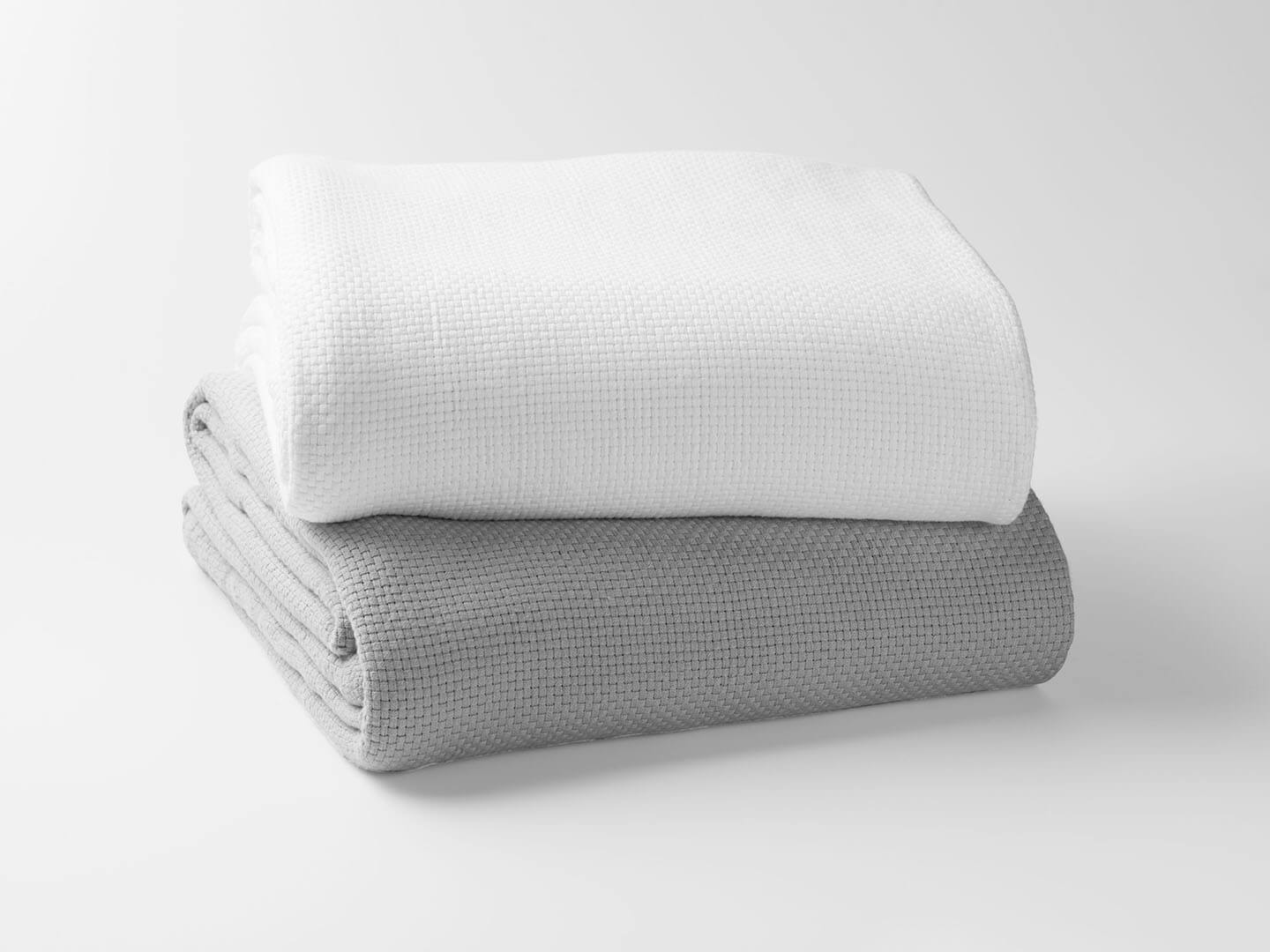 100% Organic Cotton Basket Weave Blanket - Organic World Nation