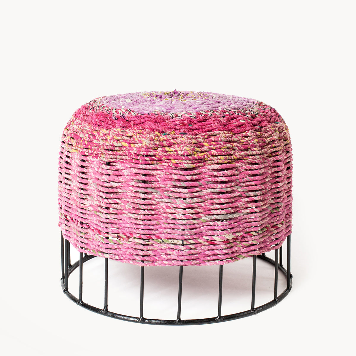 Stool with Fabric - Small - Organic World Nation