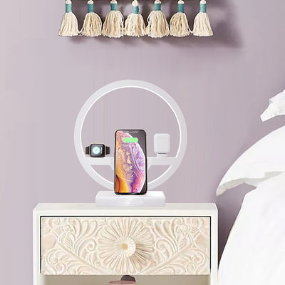 3 in 1 Fast Wireless Charger Dock Station US PLUG - Organic World Nation
