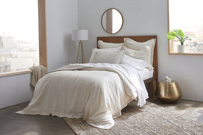 100% Fine European Linen Duvet Cover - Organic World Nation